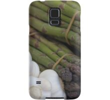 asparagus and onions Samsung Galaxy Case/Skin