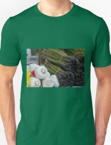 asparagus and onions Unisex T-Shirt