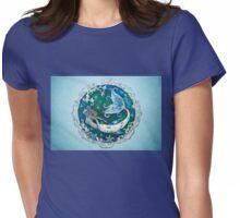 In Frozen Seas - Mermaid Art Womens Fitted T-Shirt