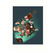 Gravity Falls - Embrace the Fall Art Print