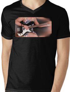 Guitar Music Mens V-Neck T-Shirt