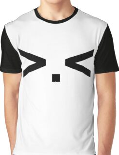 >.< (anime face) Graphic T-Shirt
