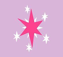 Twilight Sparkle Cutie mark by angieguzman