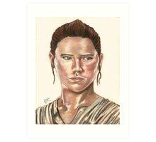 SW Portraits - Rey Art Print