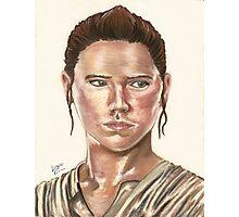 SW Portraits - Rey Photographic Print