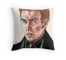 SW Portraits - General Hux Throw Pillow