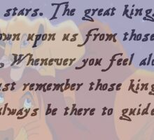 Lion King Quote Sticker