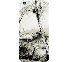 Artists at Work by the Johnstone River, Innisfail FNQ iPhone Case/Skin