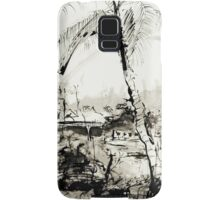 Artists at Work by the Johnstone River, Innisfail FNQ Samsung Galaxy Case/Skin