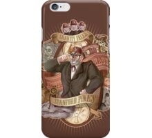 Gravity Falls - Stan the Man iPhone Case/Skin