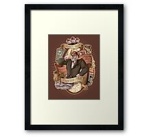 Gravity Falls - Stan the Man Framed Print