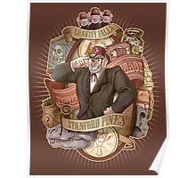 Gravity Falls - Stan the Man Poster