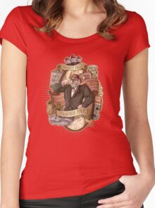 Gravity Falls - Stan the Man Women's Fitted Scoop T-Shirt