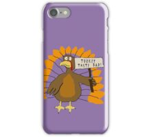 Turkey Protest 3 iPhone Case/Skin