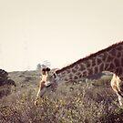 Giraffe and a half by Ruth Smith