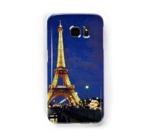 Minions visit the Eiffel Tower Samsung Galaxy Case/Skin