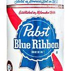 Vintage PBR - Pabst Beer by AllArtIsErotic