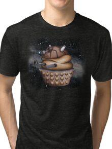 Exterminate All Cupcakes Tri-blend T-Shirt