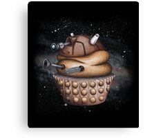Exterminate All Cupcakes Canvas Print
