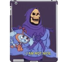 I am not nice iPad Case/Skin