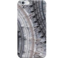 Gray time iPhone Case/Skin