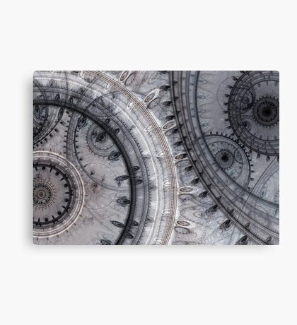 Gray time Canvas Print