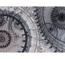 Gray time Photographic Print