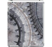 Gray time iPad Case/Skin