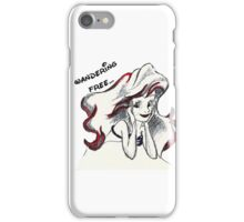 Mermaid Sketch iPhone Case/Skin