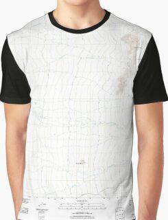 USGS TOPO Map Arizona AZ Durham Hills 20111026 TM Graphic T-Shirt