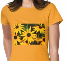 Golden Rays Of Sunshine Womens Fitted T-Shirt
