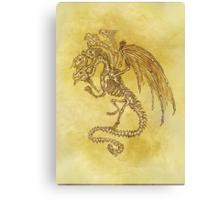 5x Dragon Canvas Print