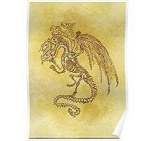 5x Dragon Poster