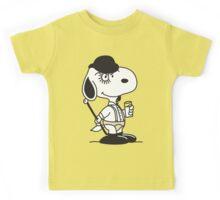 Snoopy DeLarge (A Clockwork Beagle) Kids Tee