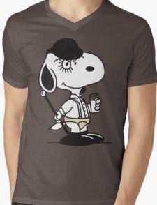 Snoopy DeLarge (A Clockwork Beagle) Mens V-Neck T-Shirt