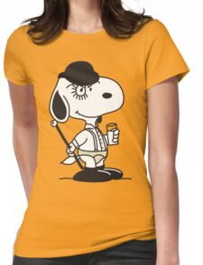 Snoopy DeLarge (A Clockwork Beagle) Womens Fitted T-Shirt