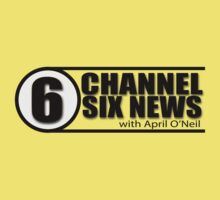 Channel 6 News with April O'Neil Kids Clothes