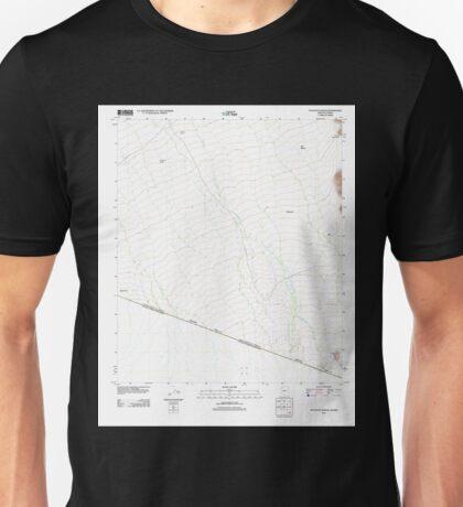 USGS TOPO Map Arizona AZ Tecolote Ranch 20111025 TM Unisex T-Shirt
