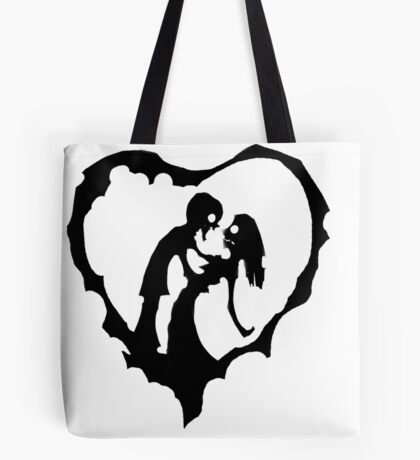 Love Of The Zombie Tote Bag