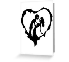 Love Of The Zombie Greeting Card