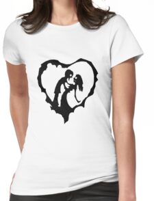 Love Of The Zombie Womens Fitted T-Shirt