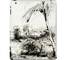 Artists at Work by the Johnstone River, Innisfail FNQ iPad Case/Skin