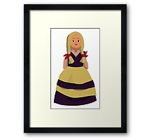 Princess Doll Girl Framed Print