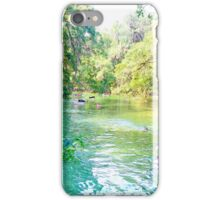 Blue Springs iPhone Case/Skin