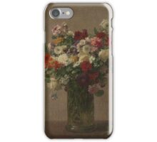 Flowers from Normandy Henri Fantin-Latour  iPhone Case/Skin