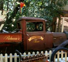 Rusty truck Sticker