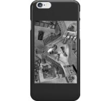 Escher's Asylum of the Daleks iPhone Case/Skin