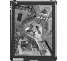 Escher's Asylum of the Daleks iPad Case/Skin
