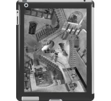 Escher's Asylum of the Daleks iPad Case/Skin