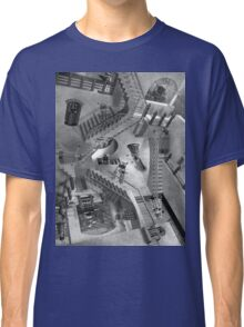 Escher's Asylum of the Daleks Classic T-Shirt